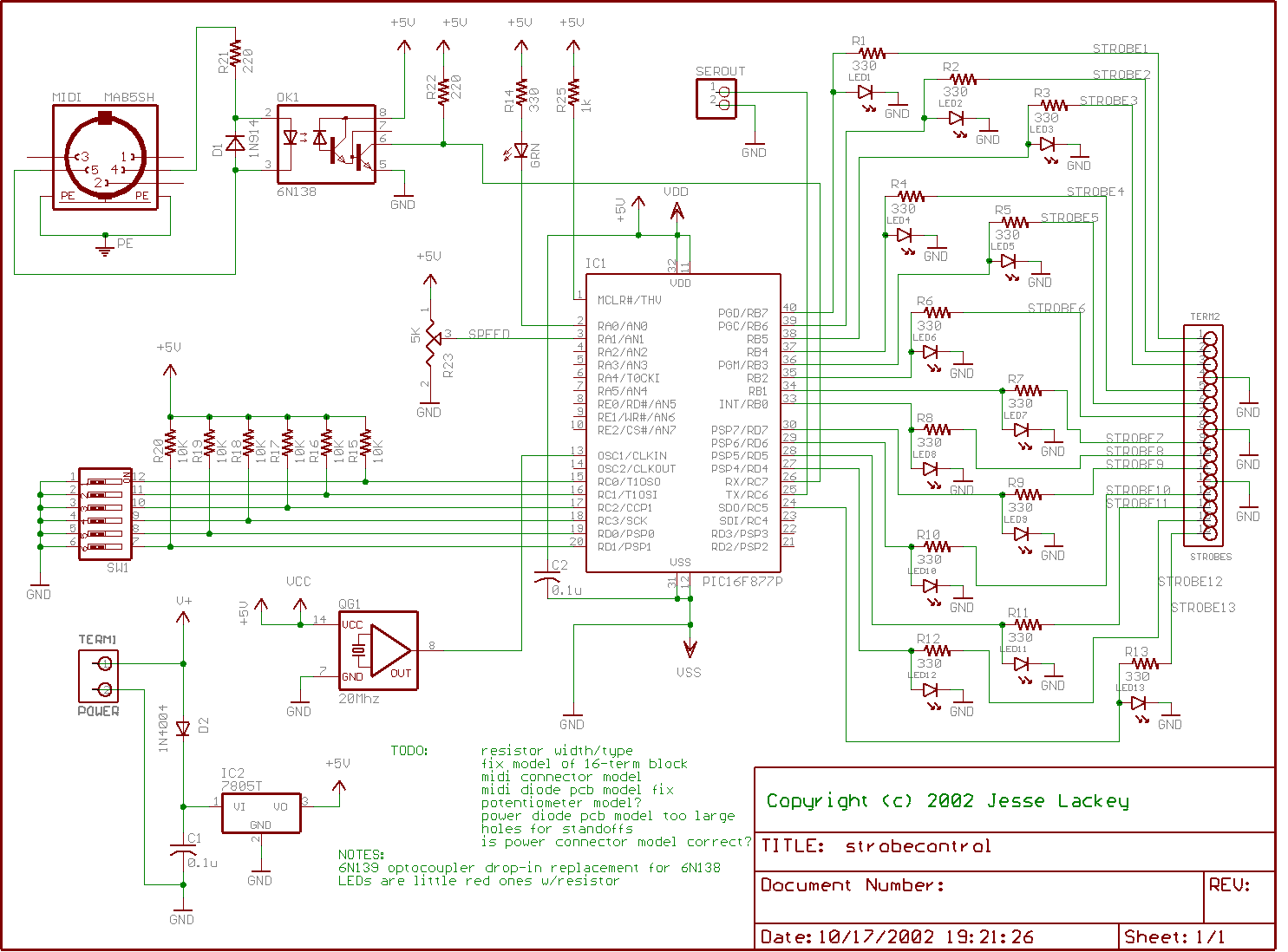 strobe_controlboard_schematic all kinds of small & (relatively) simple gizmos and hacks Electrical Wire Color Codes at couponss.co